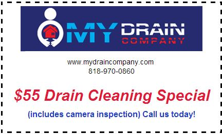 $55 drain cleaning coupon